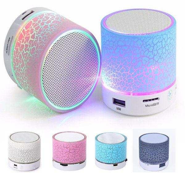 Ses Topu Işıklı Mini Bluetooth Hoparlör Taşınabilir Kablosuz