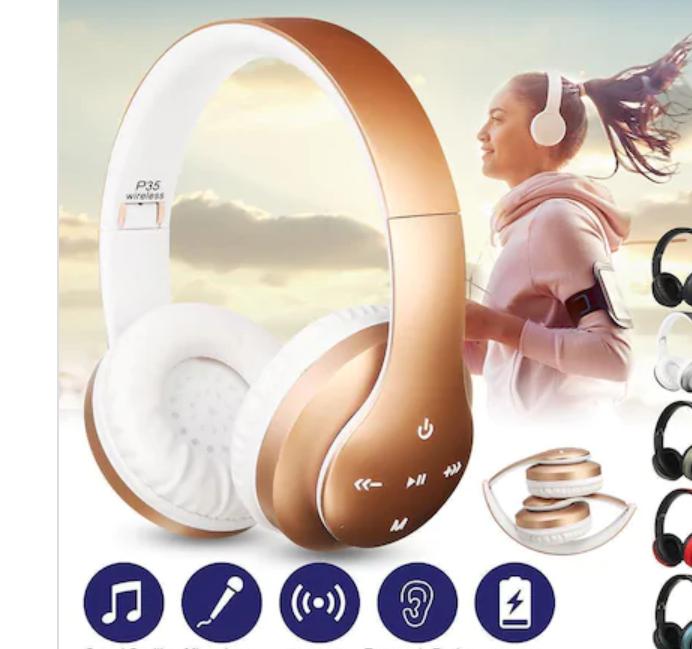 P35 Bluetooth Kablosuz Kulaklık Extra Bass