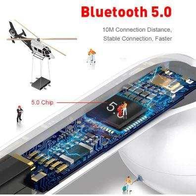 OKM-4060 2019 yeni  Bluetooth 5.0 kulaklık kablosuz kulaklık Kırmızı