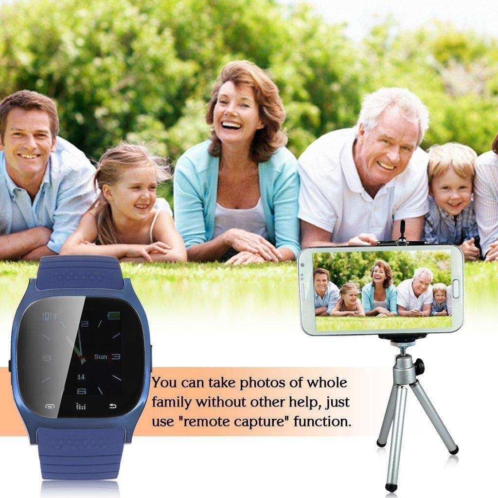 M26 Bluetooth Smart Watch-Mavi