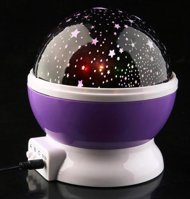 Star Master Renkli Yıldızlı Gökyüzü Projeksiyon Gece LambasI