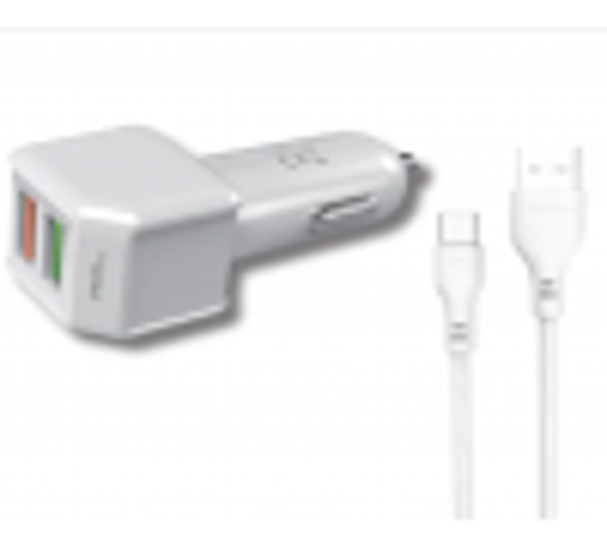 PowerIQ Series Qualcomm Araç İçi Şarj Aleti Micro USB Kablolu