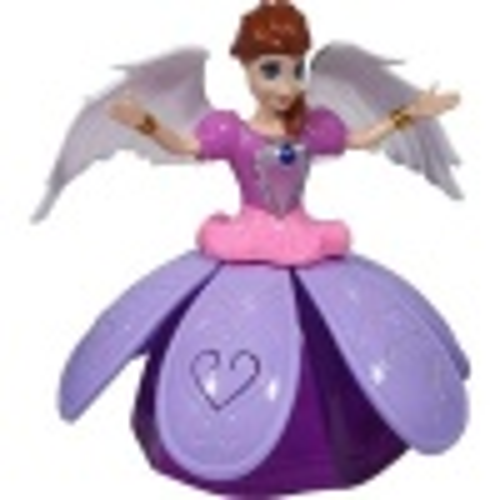 Angel Girl Dans Eden Şarkı Söyleyen Pilli Prenses