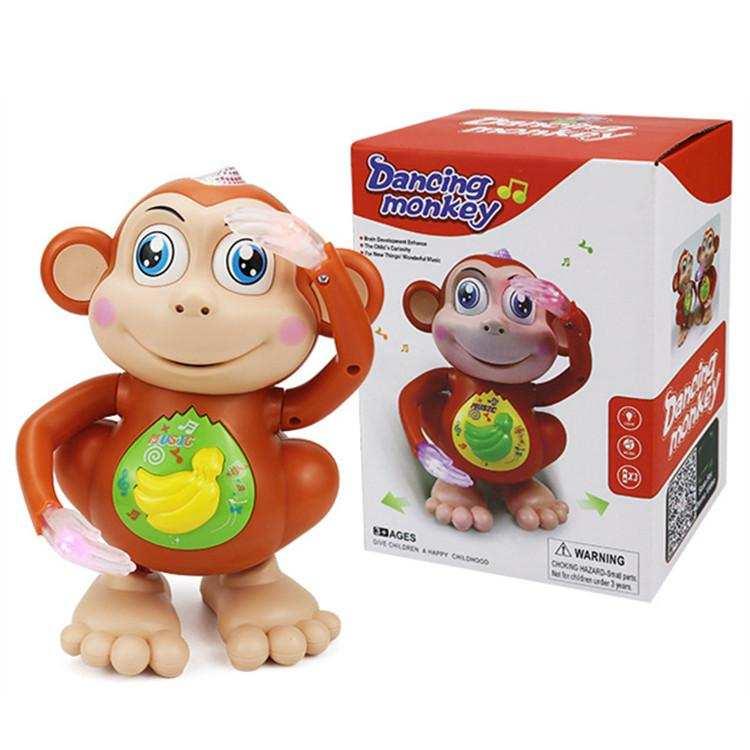 Müzikli ışık  dans maymun oyuncak
