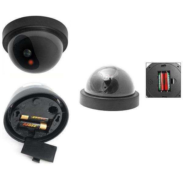 Hareket Sensörlü Caydırıcı Dome Güvenlik Kamerası