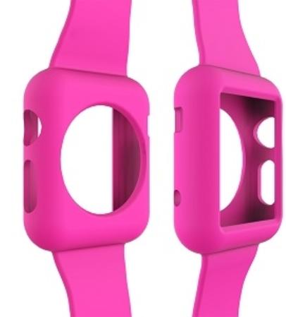 Apple Watch İçin Koruyucu Kılıflı Saat Kayışı