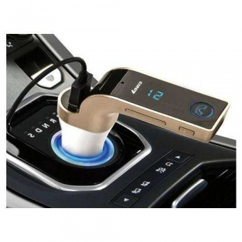 Cars7 Bluetooth 4.0 Araç Kiti Çakmaklık MP3 FM Transmitter