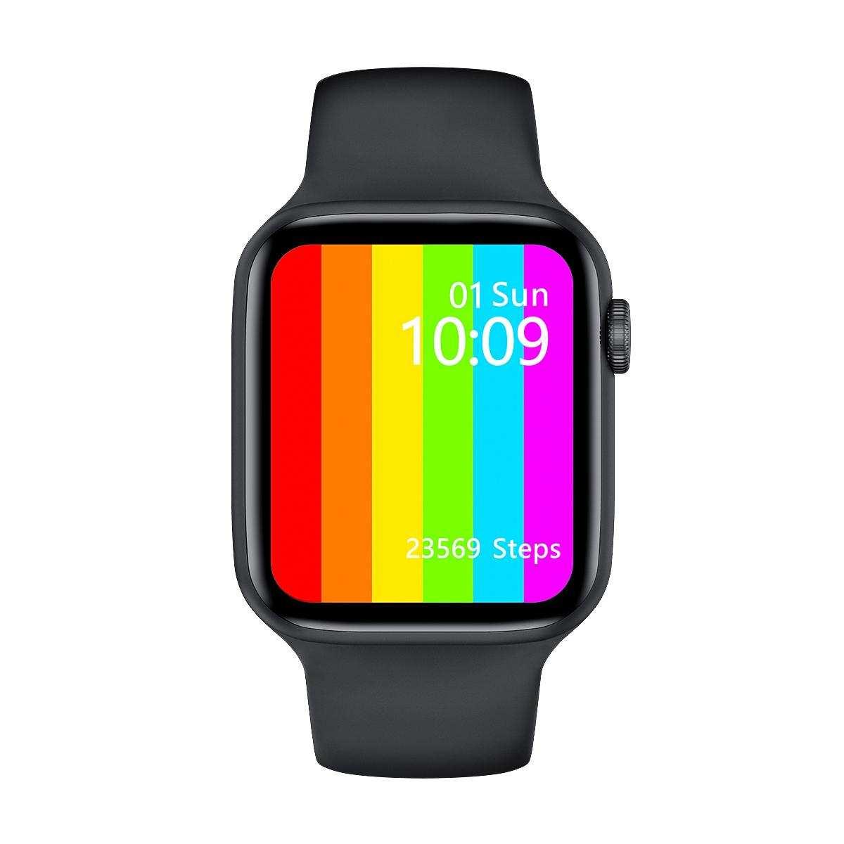 Yeni smartwatch   tam dokunmatik akıllı saat-W6