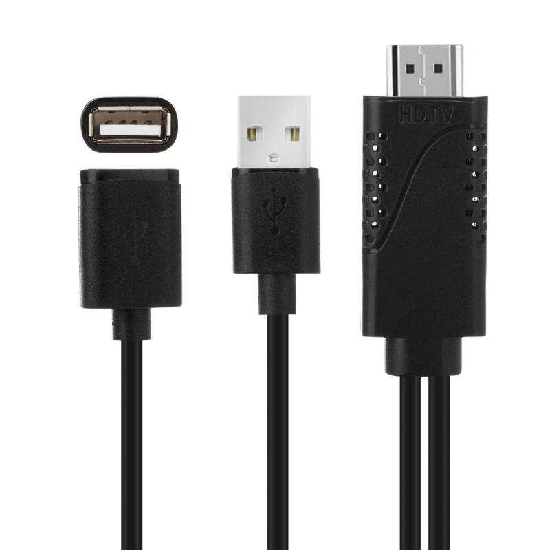 Tüm Telefon ve Tabletler için HDMI TV Görüntü Aktarım Kablosu-1080p