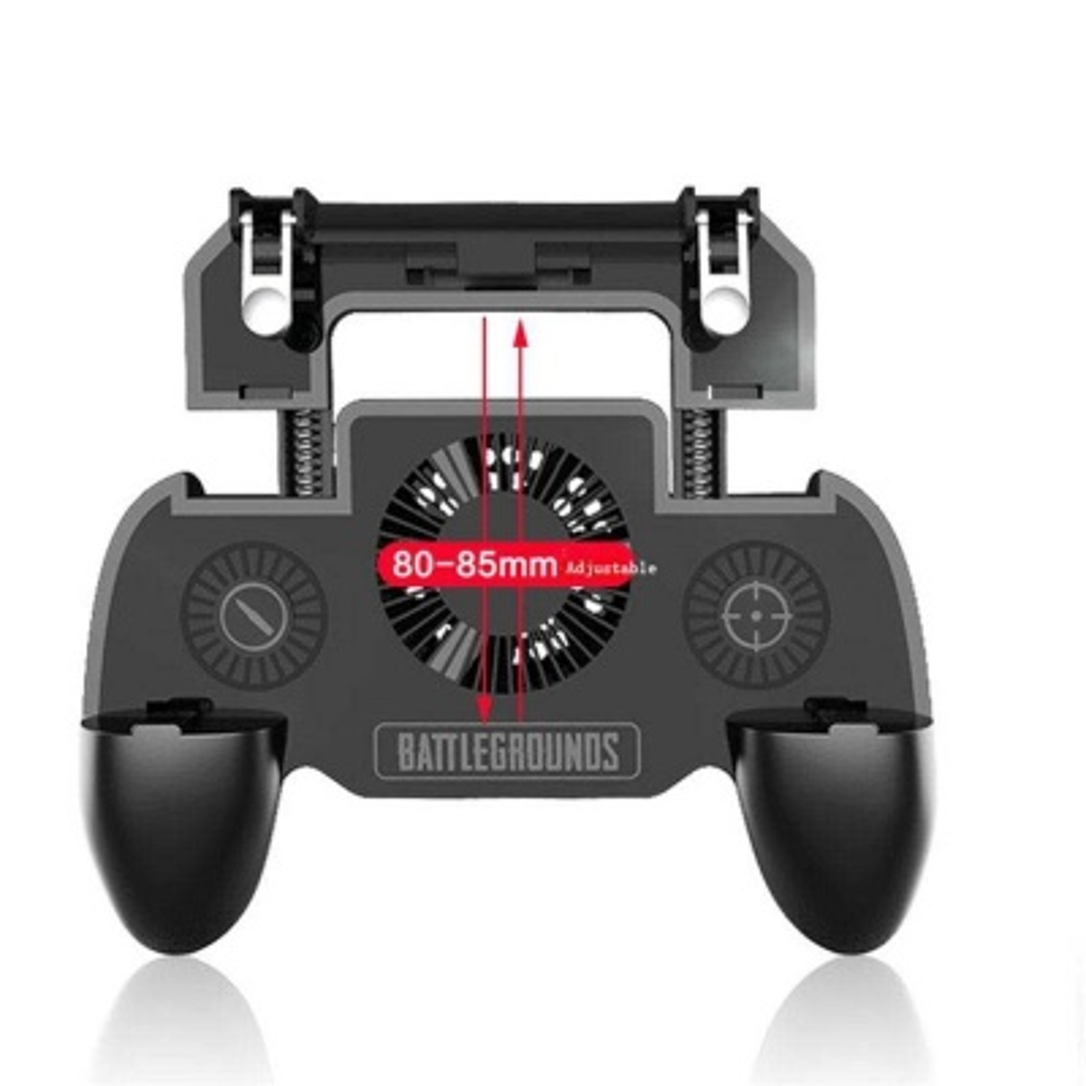 Soğutma Fanlı Powerbank Bulunan PUBG Tetik Düğmesi Gamepad Konsol