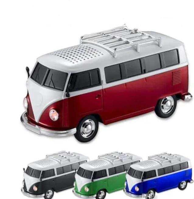 Nostaljik Minibüs Speaker Ws-266Bt Radyo-Usb