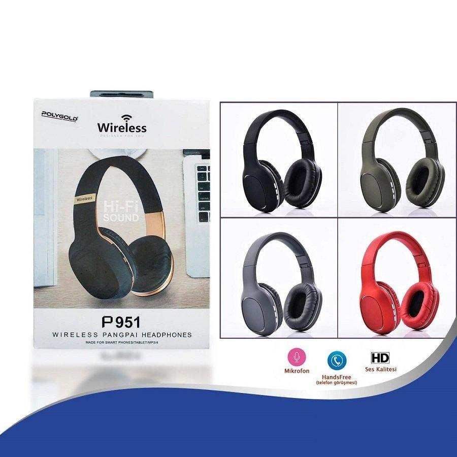 Bluetooth Kulaklık Tf Card Fm Radio