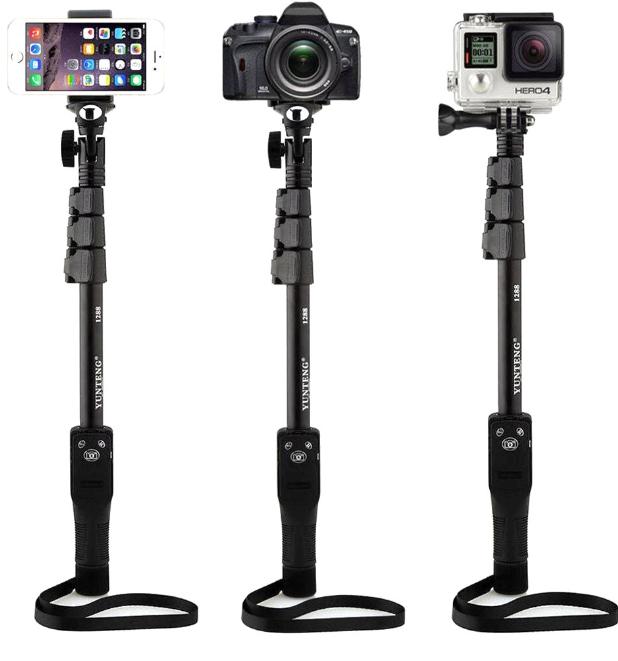 Yunteng Yt-1288 Uzun Ayarlanabilir Bluetooth Selfie Çubuğu