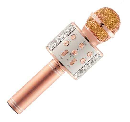 Orijinal Karaoke bluetooth mikrofon WS-858