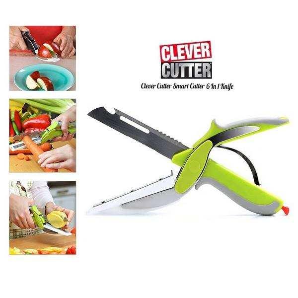 6 Fonksiyonlu Mutfak Makası- Clever Cutter