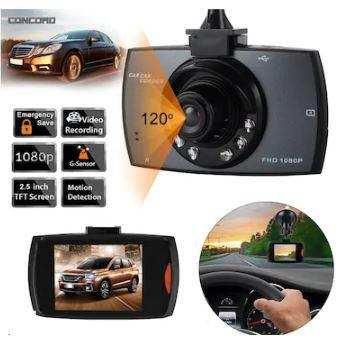 Araç İçi Kamera 2.5 İnç   VGA  G-SENSÖR