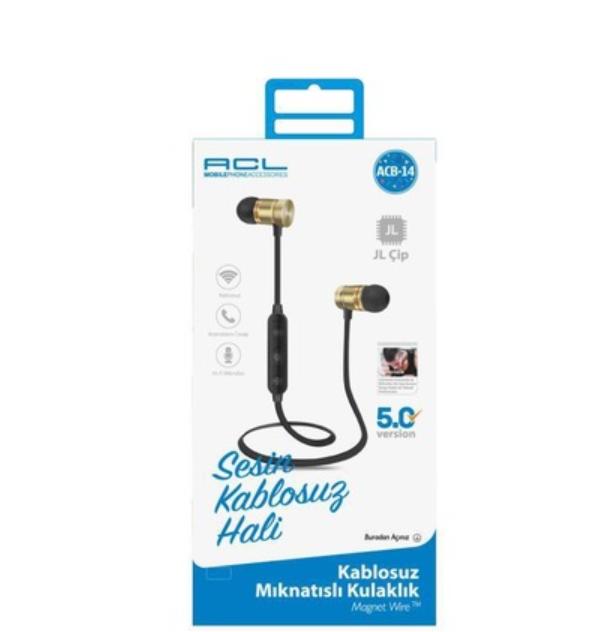 ACL ACB-14 Bluetooth Kulaklık Mıknatıslı Kablosuz Kulaklı