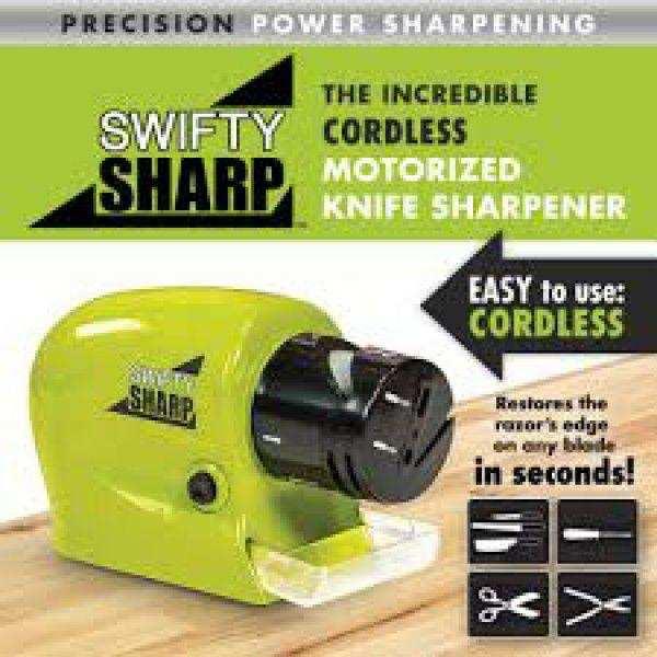Motorlu Bıçak Bileyici - Swifty Sharp