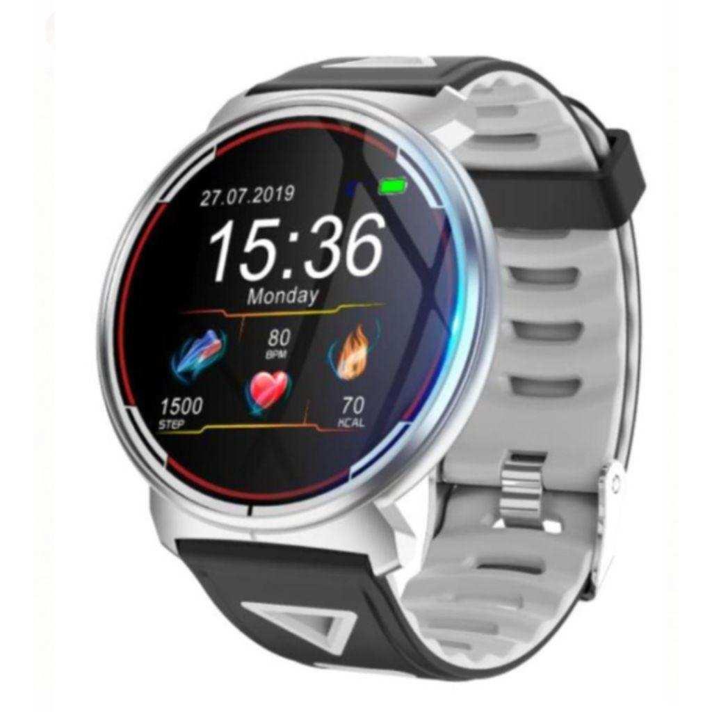 Kingboss Akıllı Saat Su Geçirmez,Bluetooth Özellikli-Siyah