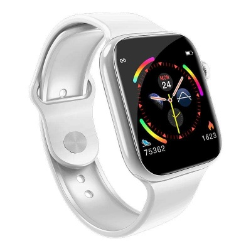 Tam dokunmatik ekran W4 IP67 su geçirmez akıllı saat-Beyaz