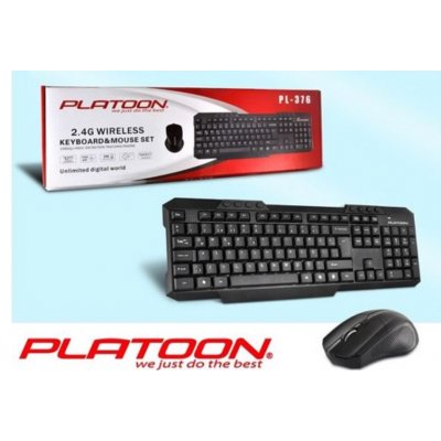 PLATOON PL-376 WIRELESS KLAVYE&MOUSE SET