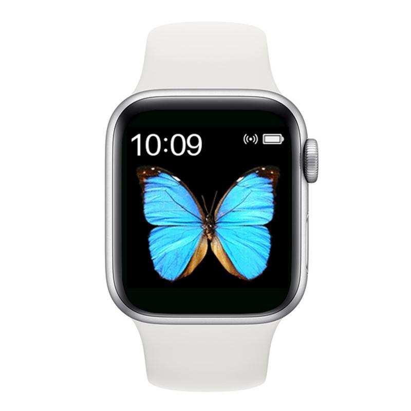 Türkçe Menü 2020 Tam Kapasite Tam dokunmatik T500 akıllı Saat-Beyaz
