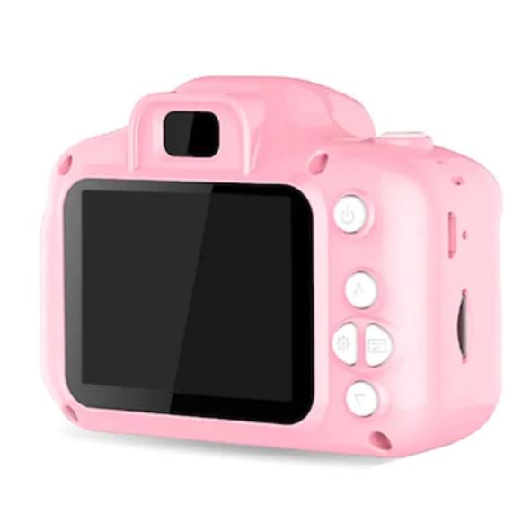 Mini 1080P HD Kamera Çocuklar İçin Dijital Fotoğraf Makinesi-Pembe