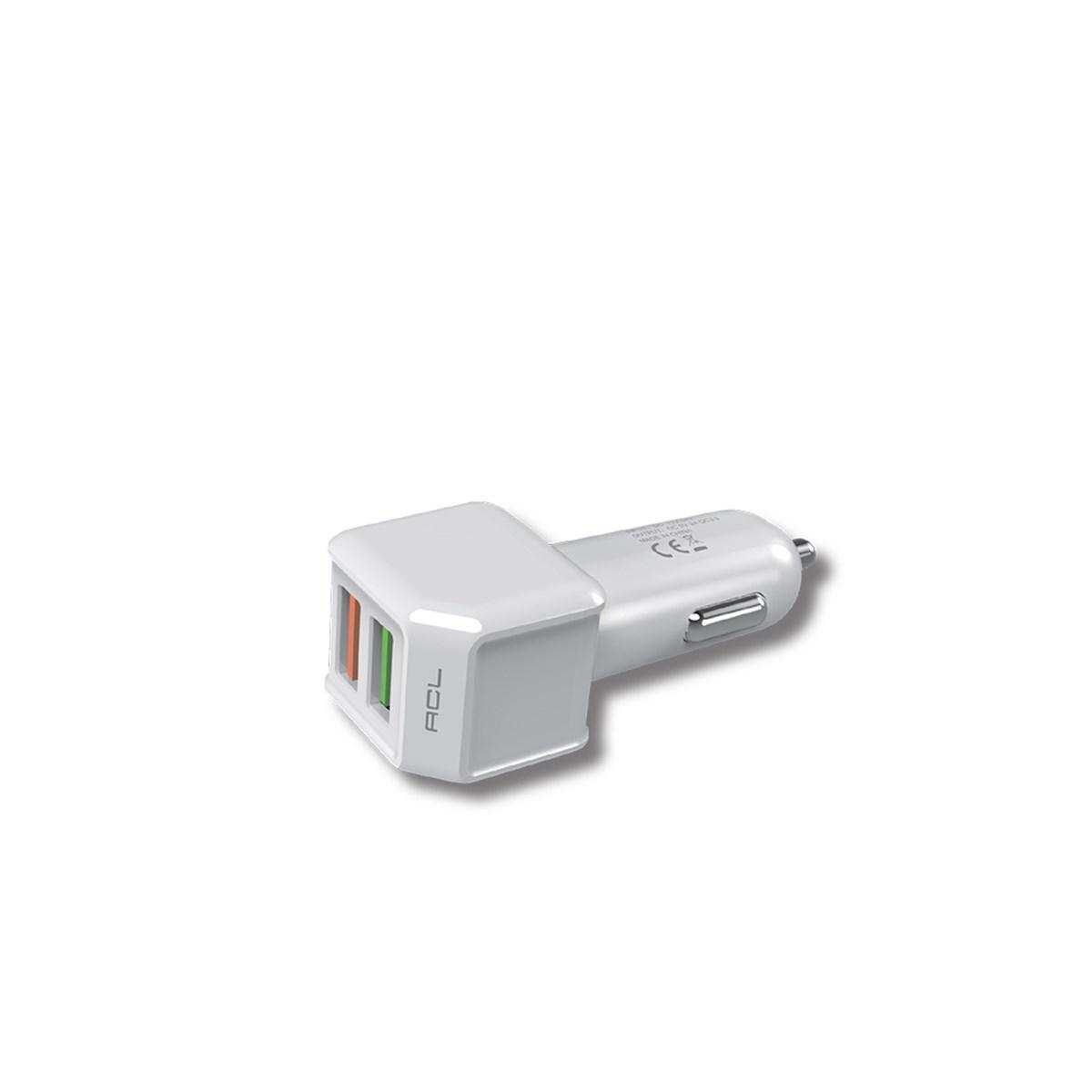PowerIQ Series 3.0A Araç İçi Şarj Aleti Micro USB Kablolu