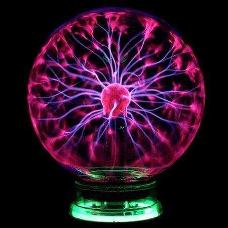 Plazma Küre Sihirli Küre Plasma Storm Lamp Gece Lambası