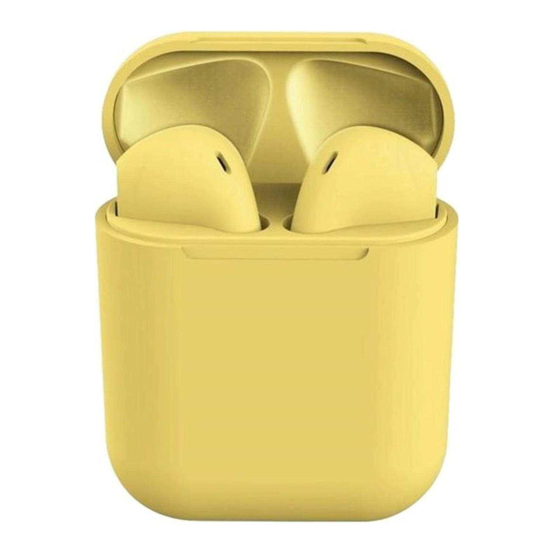İNPODS İ12 Tws Bluetooth Kulaklık - Sarı