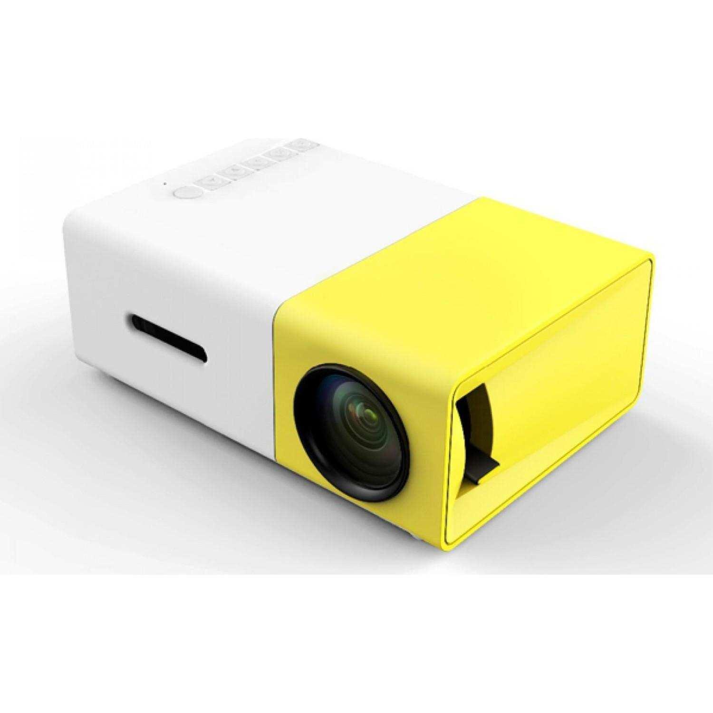 Taşınabilir Led Mini Projeksiyon Cihazı Ev Sineması Hdmi+USB+Kumanda