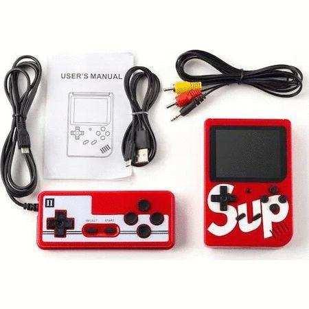 Çift Kollu SUP Retro Klasik 400 Oyunlu 3.0 Inç El Atarisi