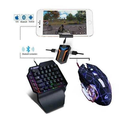 PUBG PubG Oyun Konsolu 3in1-Klavye Mouse Bağlayıcı