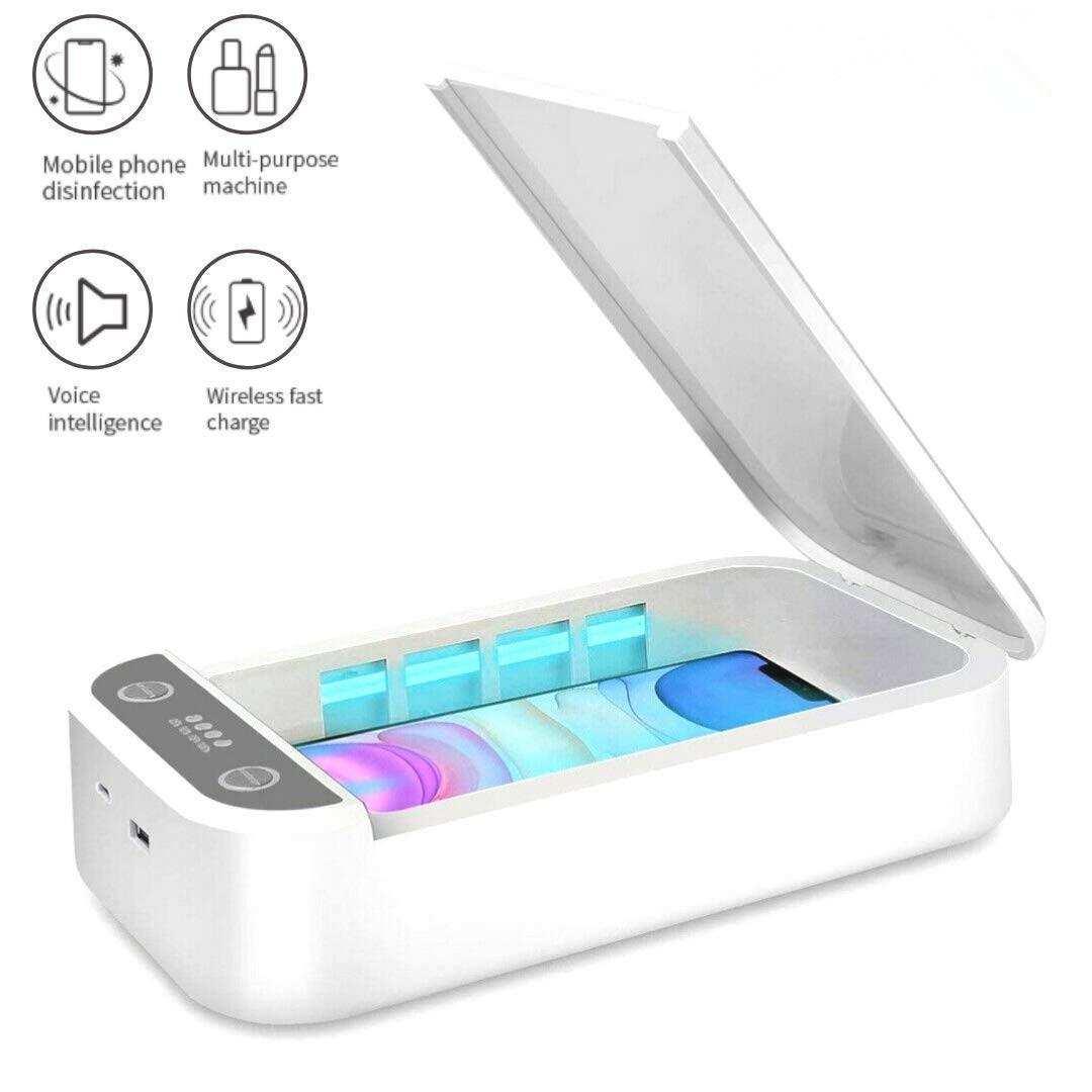 Taşınabilir UV Sterilizatör Kutusu UV Temizleyici Işık Dezenfeksiyon Kutusu