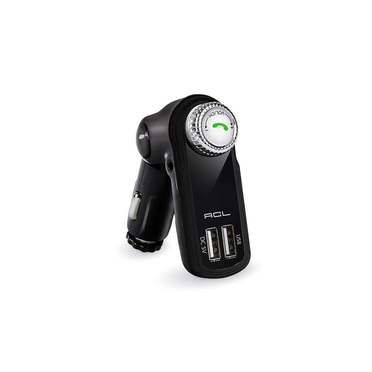 AFT-01 FM Transmitter Müzik Oynatıcı Kablosuz Bağlantı+Araç Şarjı