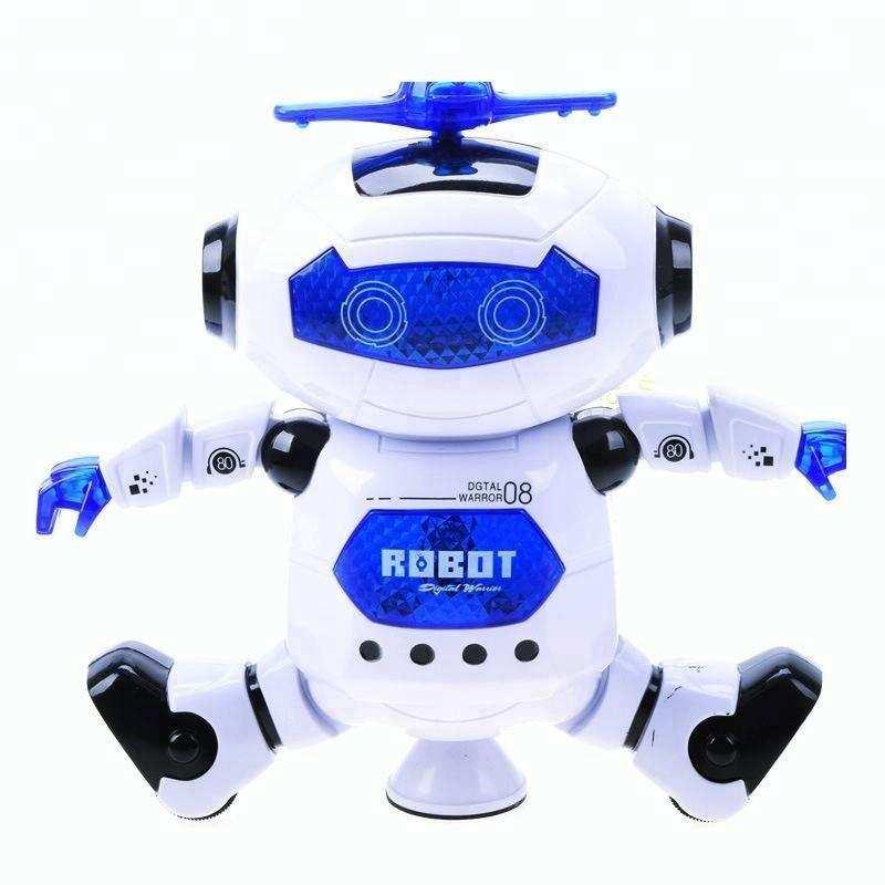 360 Dönen Otomatik Dans Eden Oyuncak Akıllı Robot