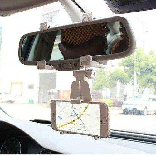 Araç İçi Dikiz Aynası Telefon Navigasyon Tutucu