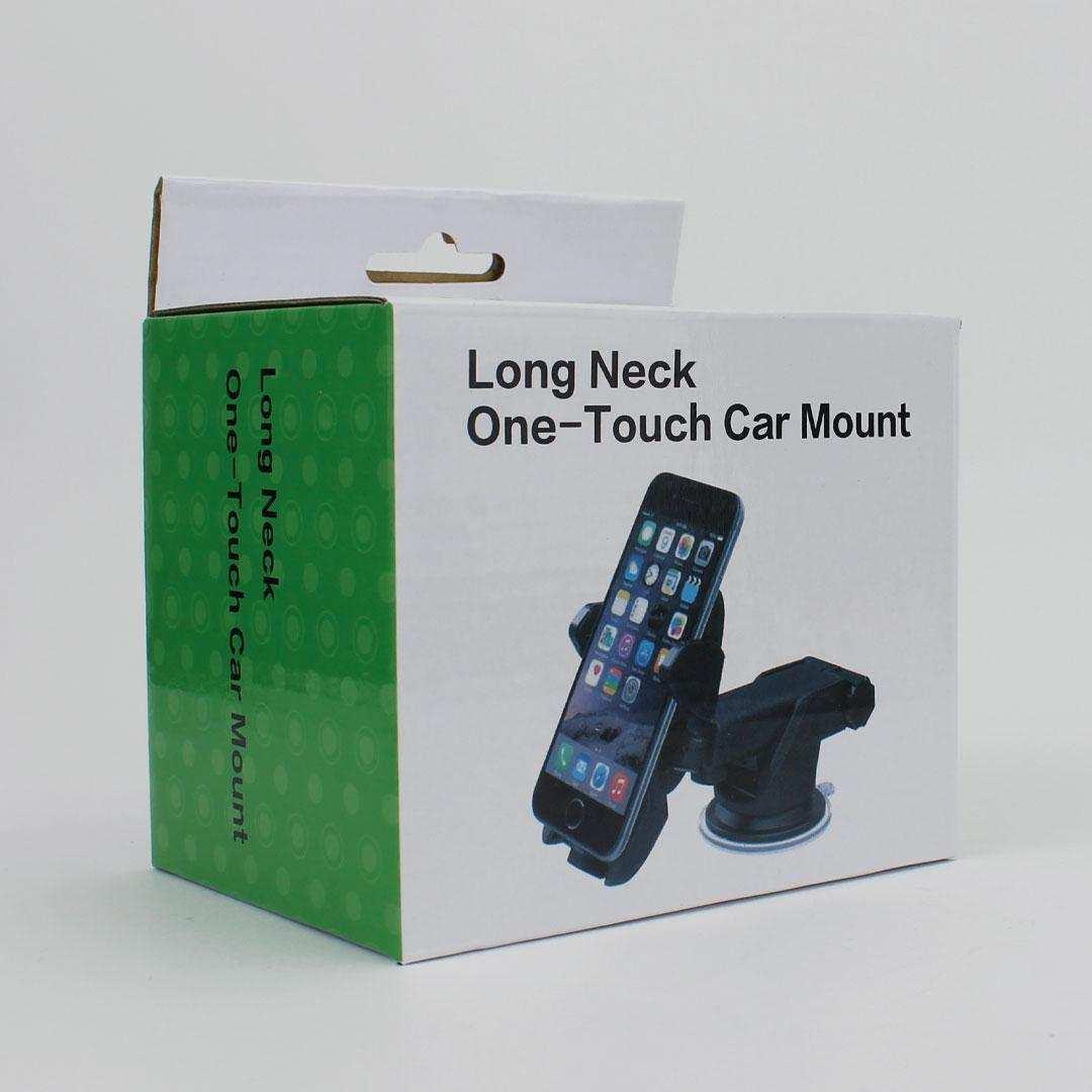 Universal Vantuzlu Araç İçi Telefon Tutucu Long Neck