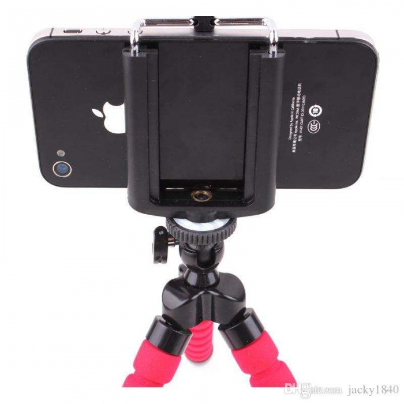 Katlanabilir Tutucu Cep telefonu ve Kamera selfie için Standı