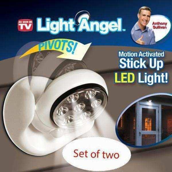 Hareket Sensörlü Lamba Light Angel 360 Derece Dönüş