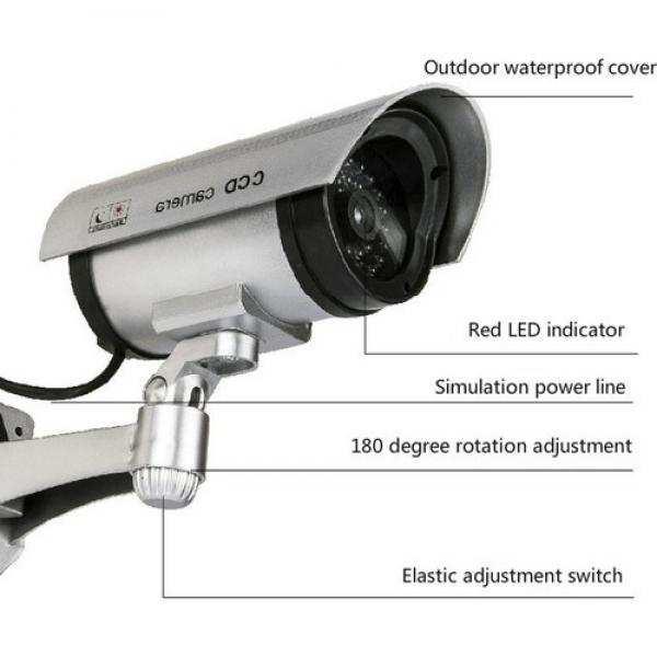 Caydırıcı Güvenlik Kamerası Gece Görüşlü Model