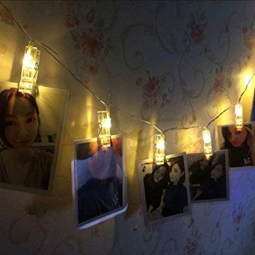 LED IŞIKLI MANDAL 10 ADET