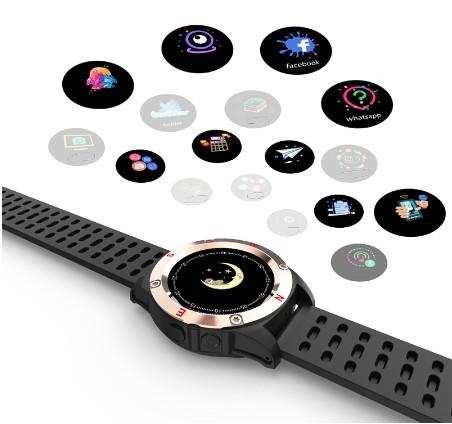 Kamera ile bluetooth smart watch st5 Akıllı Saat