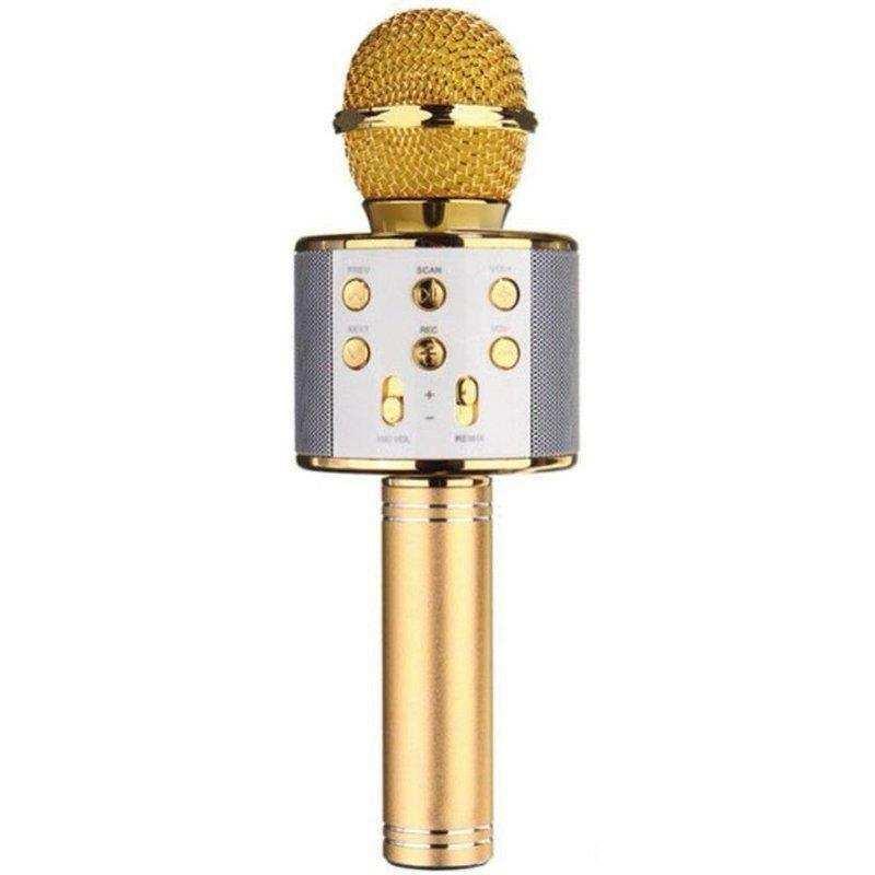 WS-858 Bluetooth-SD-Aux Kablosuz Karaoke Mikrofon