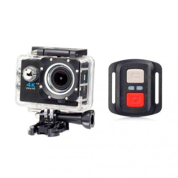 4k Kumandalı Ultra Hd Wi-fi 1080 Hd Aksiyon Kamera