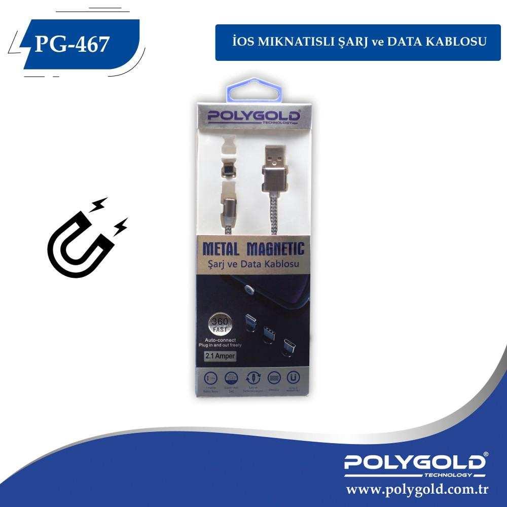 İPHONE MIKNATISLI 360 DERECE USB KABLO