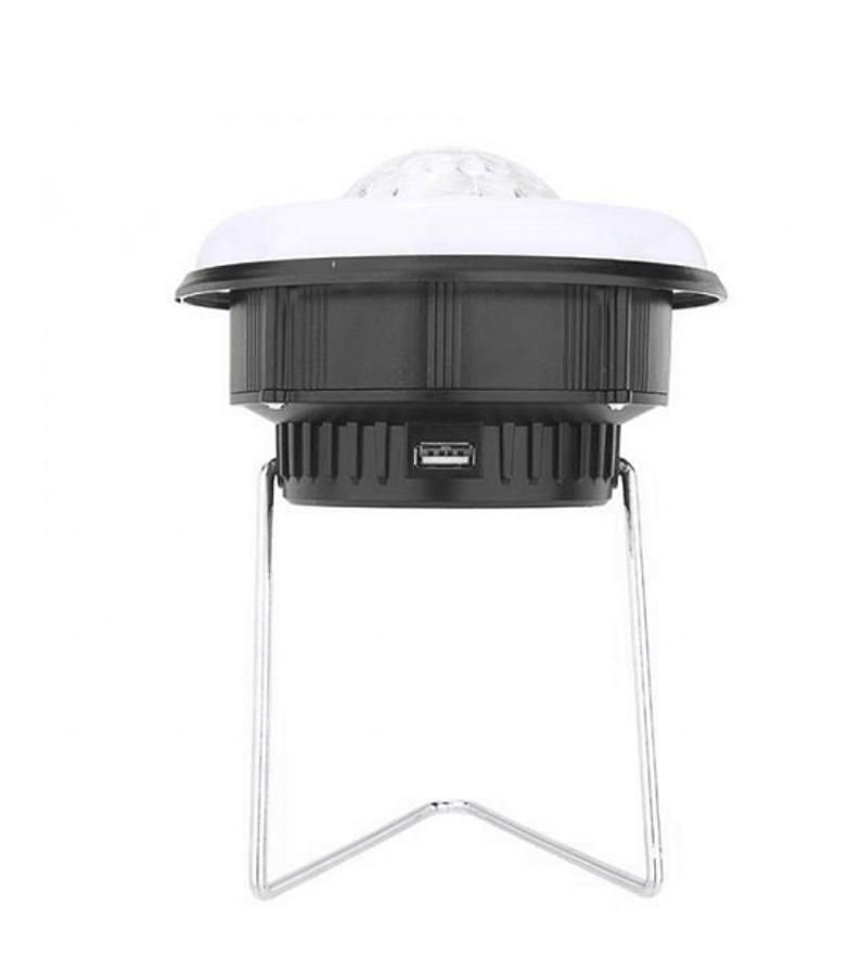 Solar Disko Ampüllü Led Kamp Feneri