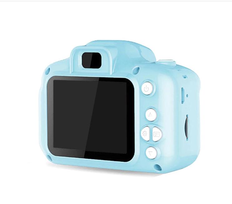 Mini 1080P HD Kamera Çocuklar İçin Dijital Fotoğraf Makinesi-MAVİ