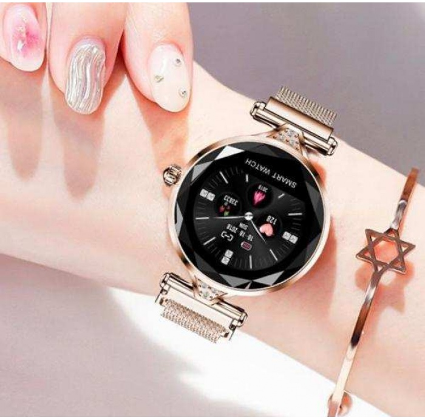 H1 Bayan Akıllı Saat (gold)