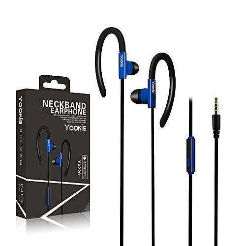 YOOKIE YK220 Kulakiçi Mikrofonlu Kulaklık- Mavi